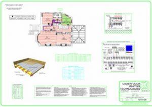 Typical Joist Floor CAD Design